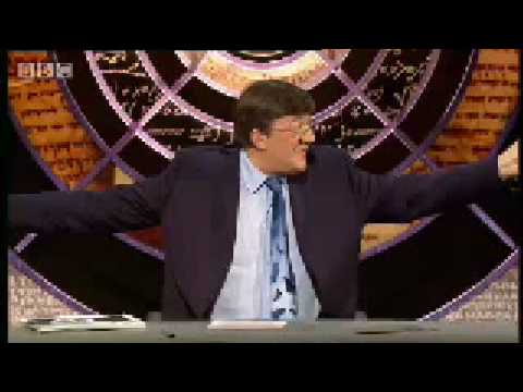 QI: Which fingerprint is which? -BBC comedy