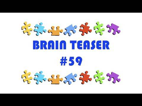Video Brain Teaser #59