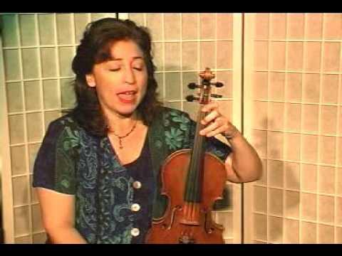 Violin Lesson - Theory - E Flat Melodic Minor Scale