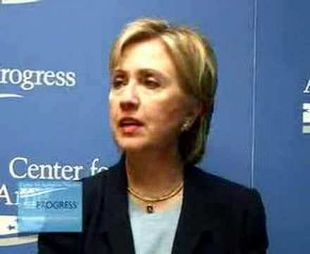SEEPROGRESS Exclusive: Hillary Clinton Interview @ CAP