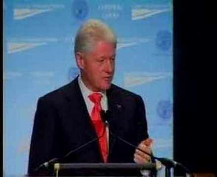 President Clinton at CAP's Common Good Conference Part 5