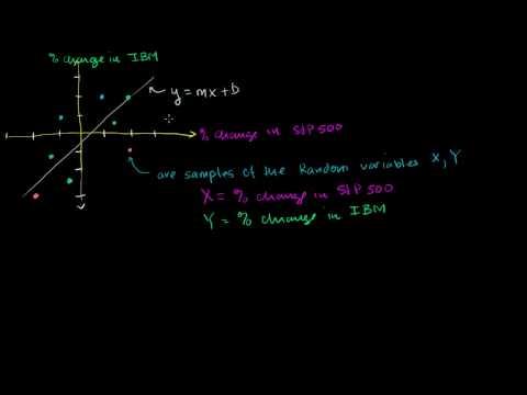 Regression Notation Clarification