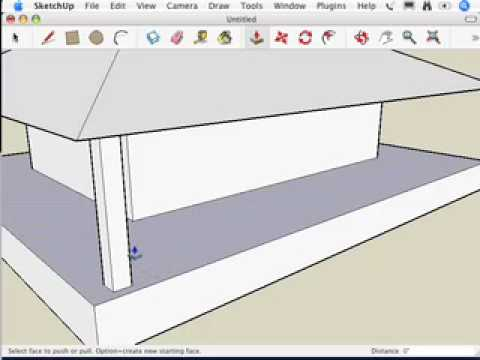 SketchUp: Making a new component