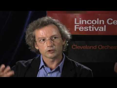 Watch Franz Welser-Möst discuss Anton Bruckner: The Power of Bruckner