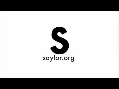 The Saylor Foundation: Connecting the Dots Preview