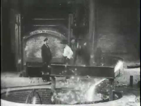 Tapping a Furnace, Westinghouse Works