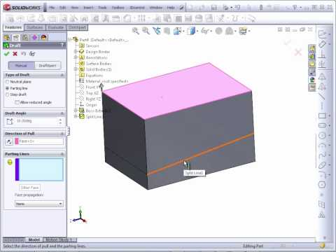 Solidworks 2012 Tutorial | Draft