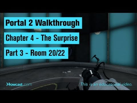 Portal 2 Walkthrough / Chapter 4 - Part 3: Room 20/22