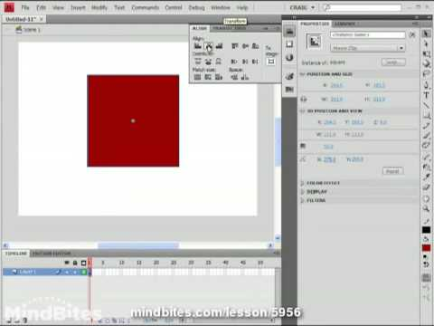 Use 3D Flash 5: Animating 3D Rotation
