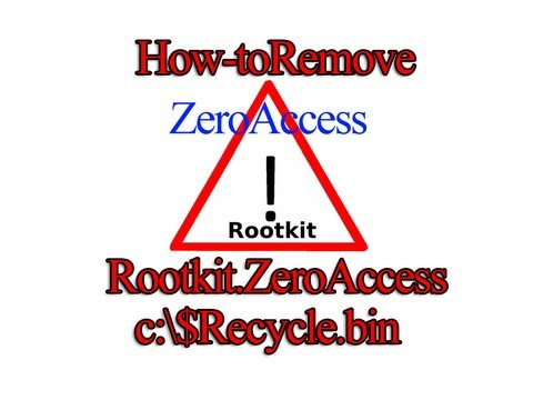 Remove Rootkit.ZeroAccess C:\$recycle.bin a BackDoor Trojan by Britec