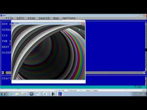 QBasic Tutorial 32 - QB64 Drawing Part 2