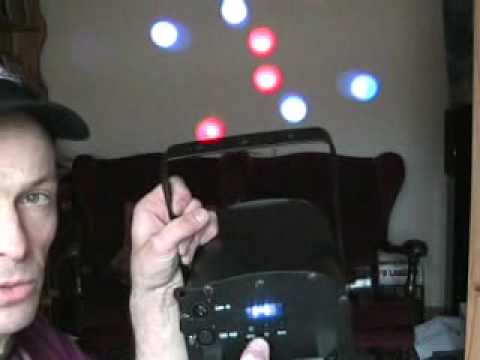The American DJ LED Vision, Video 1