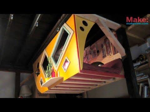The Krunk Bunk (Micro Sleep-Loft) - Tiny Yellow House