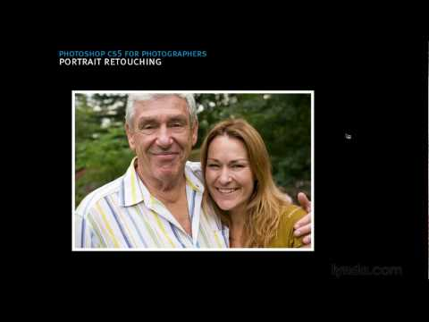 Photoshop overview: Self-portrait retouching best practices | lynda.com