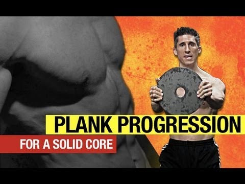 Plank Progression - From Rookie to RIPPED ABS in 7 Minutes!