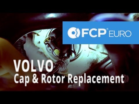 Volvo Rotor and Distributor Cap Replacement (850 T) FCP Euro