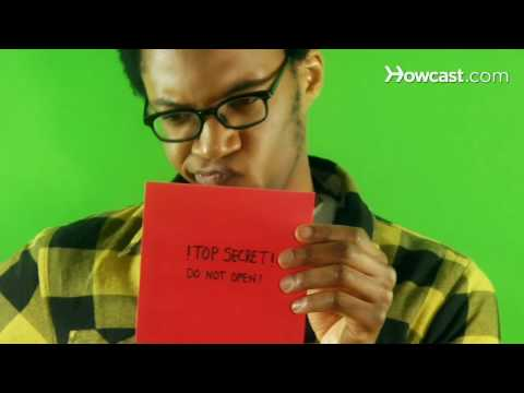 Quick Tips: How To Covertly Open an Envelope