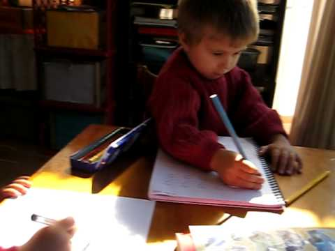 Toddler - Writing. writing practice