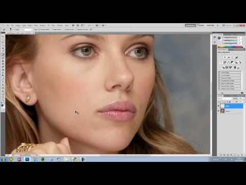 Photoshop CS5 - Removing Spots In 60 Seconds - Tutorial