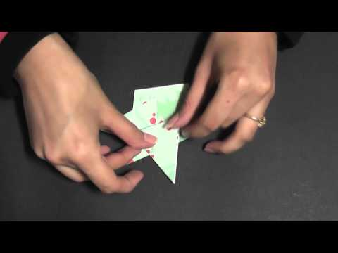 Origami - Learn to make a Star Cap