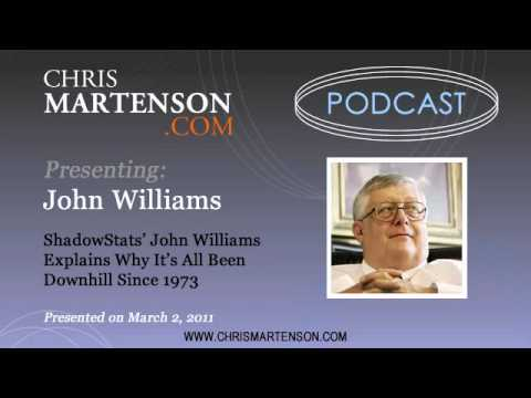 ShadowStats' John Williams Explains Why It's All Been Downhill Since 1973