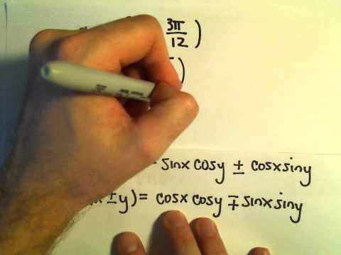 Sum and Difference Identities for Sine and Cosine, More Examples #2