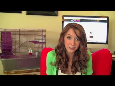 Taryn Southern: A girl & her rodent !!! Taryn's latest !!!  WOW !!!
