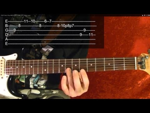 TIME Solo ( Guitar Lesson ) by PINK FLOYD, With Tabs