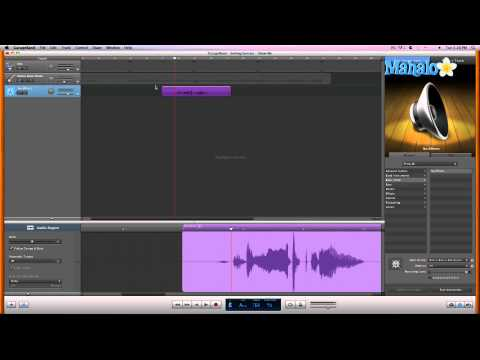 Pitch Editing in Audio - GarageBand Tutorial