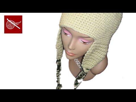Crochet Geek - Crochet Cap Coligny - Earflaps