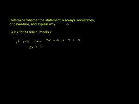 Understanding Logical Statements 4