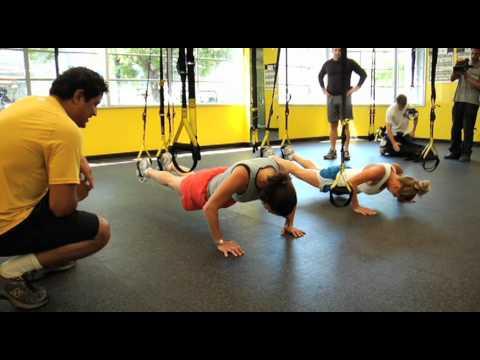TRX® Exercises: The TRX 40/40 Challenge