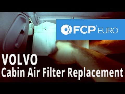 Volvo Cabin Air Filter Replacement (S60) FCP Euro