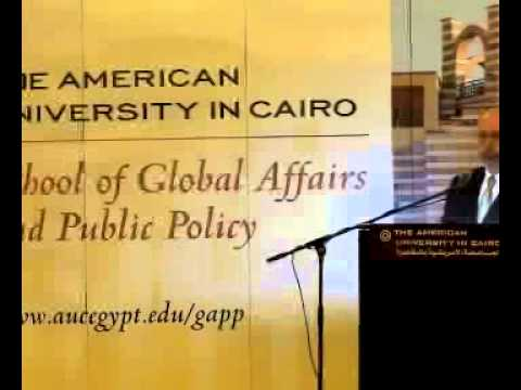 Shibley Telhami Speaks at AUC on Egypt's Revolution and the Role of the U.S.