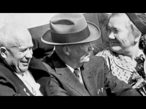 "Three Years After ""We Will Bury You,"" Nikita Khrushchev Tours America"