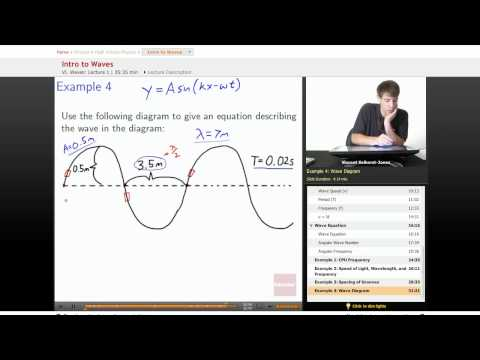 Physics: Intro to Waves