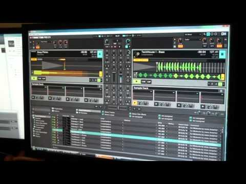 Traktor Kontrol S4 from Native Instruments Video 5 Demo One-shots