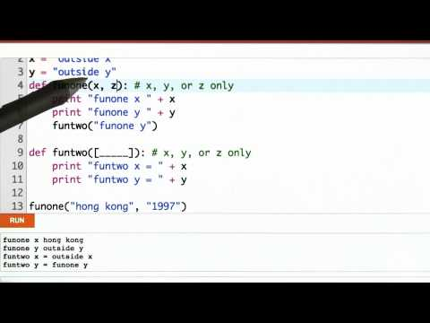 Scope Solution - CS262 Unit 5 - Udacity