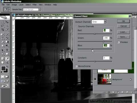Photoshop: Perfect Black and White images