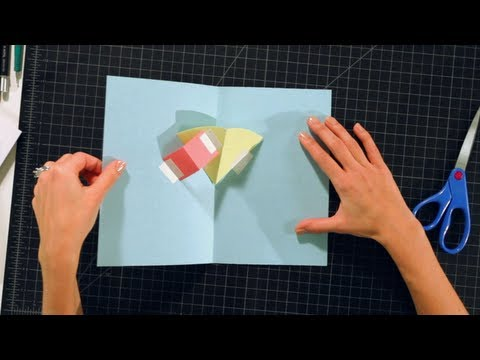 Pop-Up Cards and Crafts/ Basic Techniques / Layers on V Folds