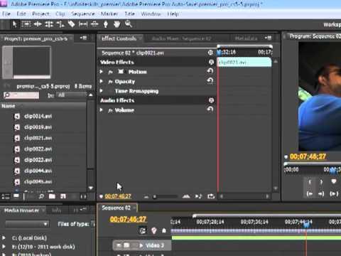 Premiere Pro CS5 The Ripple Edit Tool - Tutorial