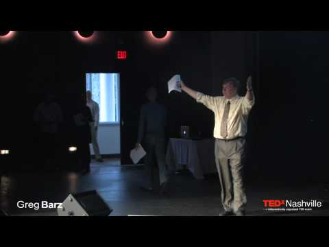 TEDxNashville - Greg Barz - 3/21/10