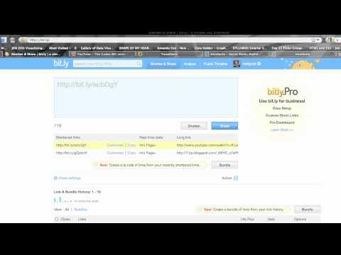 Twitter tutorial 5: Tweeting links and shortening them