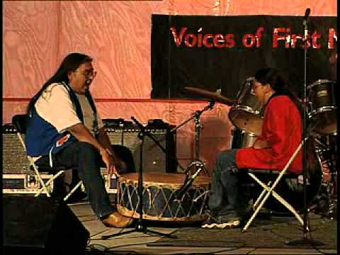 Sissy Goodhouse discusses drumming among the Lakota people