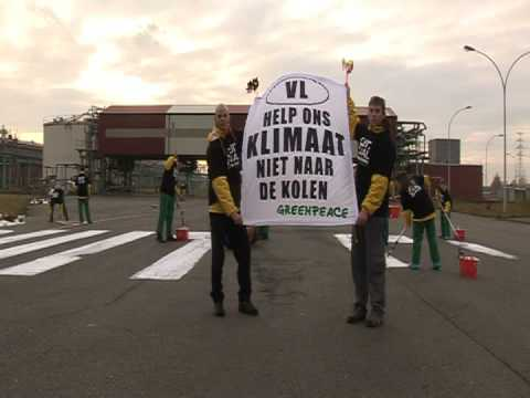 Taking action against coal in Belgium