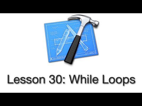Objective-C Tutorial - Lesson 30: While Loops