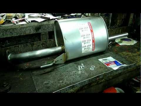 Toyota Muffler Replacement