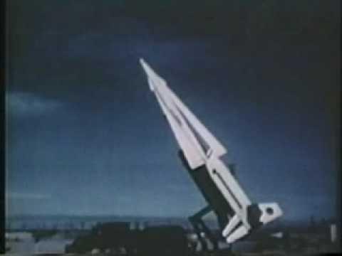 Nike Hercules Missile Q5 High Altitude Intercept circa 1950's