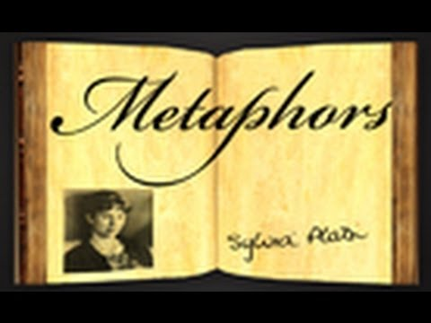 Pearls Of Wisdom - Metaphors by Sylvia Plath - Poetry Reading