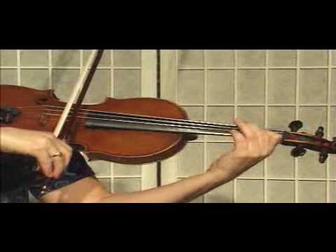 Violin Lesson - Song Demonstration - Canon In D (Ph.2)